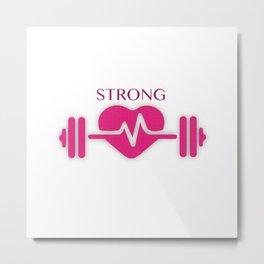 Strong Women Metal Print