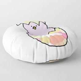 Cute Pink Baby Chick - a hatching chicken for spring and Easter Floor Pillow
