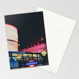 London nightlife ... Stationery Cards