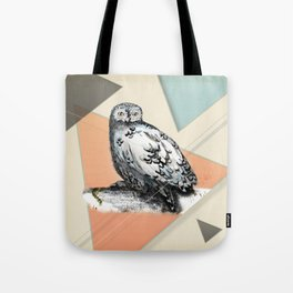 Owl McSit by carographic Tote Bag