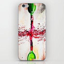 Wine Splash iPhone Skin