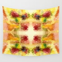 fruits Wall Tapestries featuring Fruits by Veronika