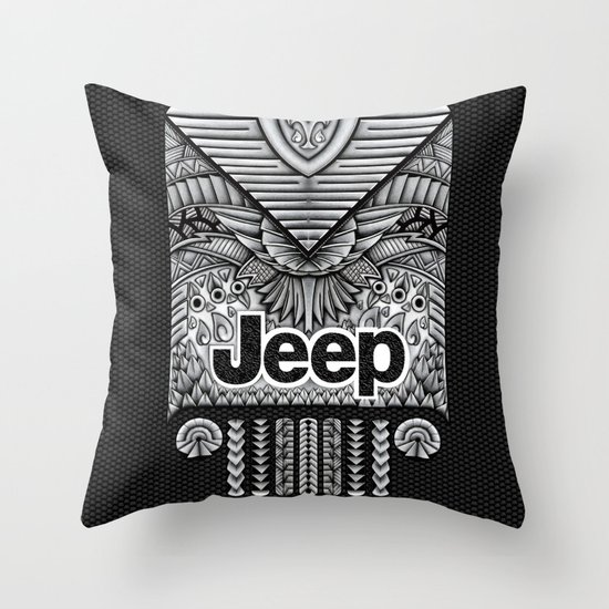 Throw Pillows Kmart : Aztec Jeep iPhone 4 4s 5 5c 6, pillow case, mugs and tshirt Throw Pillow by Greenlight8 Society6