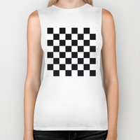 chess Biker Tanks featuring Chess Game by erkki