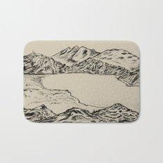 lake topeka australia Bath Mat