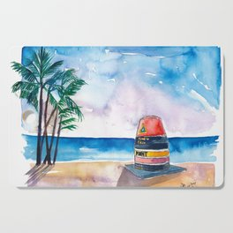 Key West Florida USA Southernmost Point of The USA Cutting Board