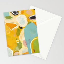 sunshine fall garden leaves Stationery Cards