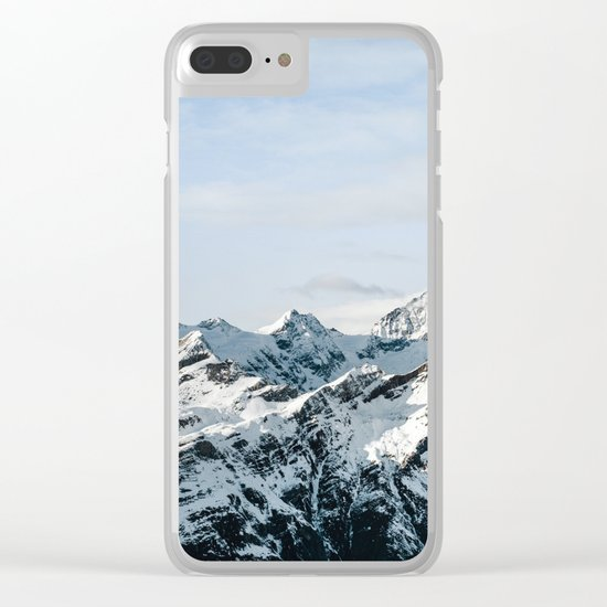Mountain #landscape photography Clear iPhone Case