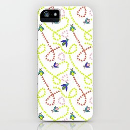 Whimsy Bugs iPhone Case