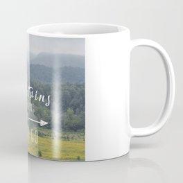 Mountains are Calling - The Smokys Coffee Mug