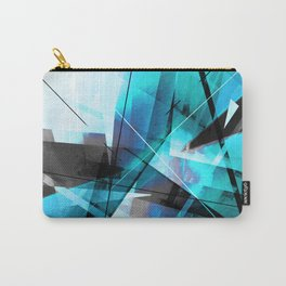 Shiver - Geometric Abstract Art Carry-All Pouch