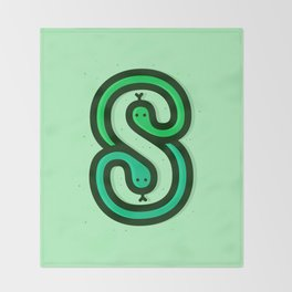 S is for... Throw Blanket