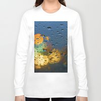 bokeh Long Sleeve T-shirts featuring Bokeh by Blue Lightning Creative