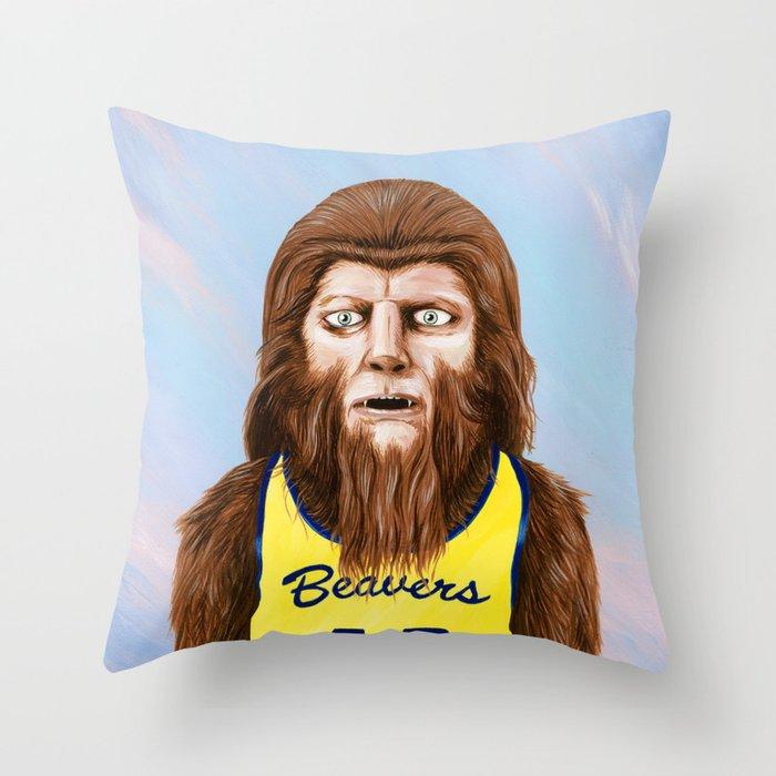 Teenwolf Throw Pillow