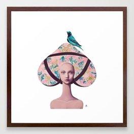Gemma Bunny Framed Art Print