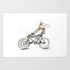 Cruiz'n Right Alomg Art Print
