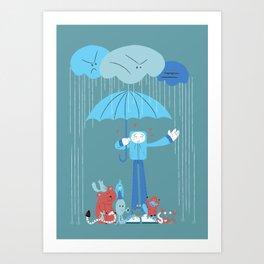Animal Lover Art Print