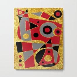 Abstract #510 Metal Print