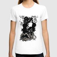 spring T-shirts featuring spring rain - by Viviana Gonzalez by Viviana Gonzalez