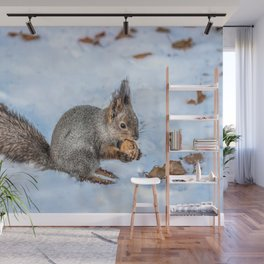 Hard nut to crack Wall Mural