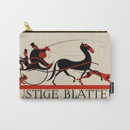 Lustige Blaetter (Funny pages) Carry-All Pouch