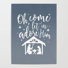 Let Us Adore Him Poster