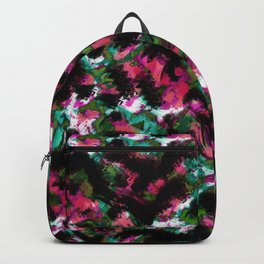 """""""Watercolor glamour """".  """"Watermelon  juice"""" . Backpack"""