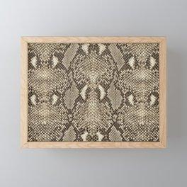 Snakeskin Framed Mini Art Print
