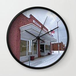 City Hall - Ironton, Missouri Wall Clock