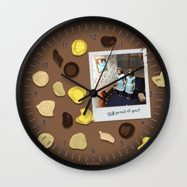 Still proud of you? Wall Clock