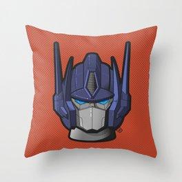 G1 Optimus prime Throw Pillow
