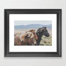 Thingeyrar, Iceland Framed Art Print