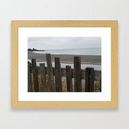 Gualala Beach Framed Art Print