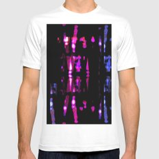 x-ray. White Mens Fitted Tee MEDIUM