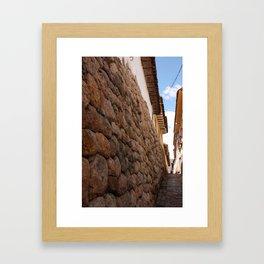 Cusco, Peru Framed Art Print