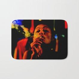 Smoking in the Nightclub Bath Mat