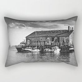 They Also Faced The Sea Rectangular Pillow