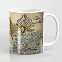 Canada Geese along the Shore Coffee Mug
