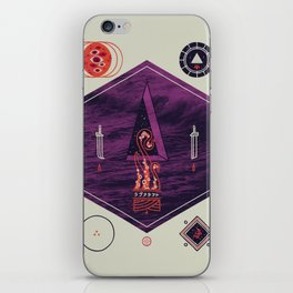It fell from the stars, It rose from the sea iPhone Skin