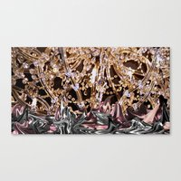 politics Canvas Prints featuring POLITICS by LANELLA TELLO