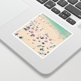 beach summer in love Sticker