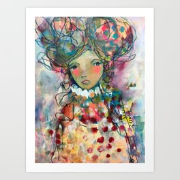 Beauty In Stillness Art Print