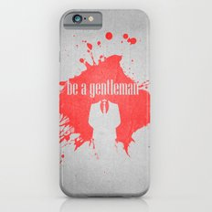 be a gentleman Slim Case iPhone 6s