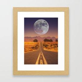 Lunar 2 Framed Art Print