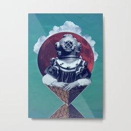 i know you Metal Print