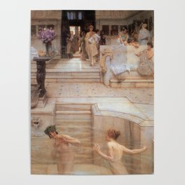 A Favourite Custom 1909 by Sir Lawrence Alma Tadema | Reproduction Poster