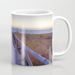 The path..., the beach.... Coffee Mug