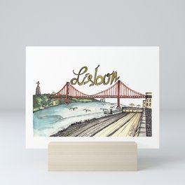 Lisbon Mini Art Print