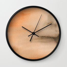 Abstract No. 409 Wall Clock