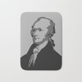 Alexander Hamilton Graphic Bath Mat